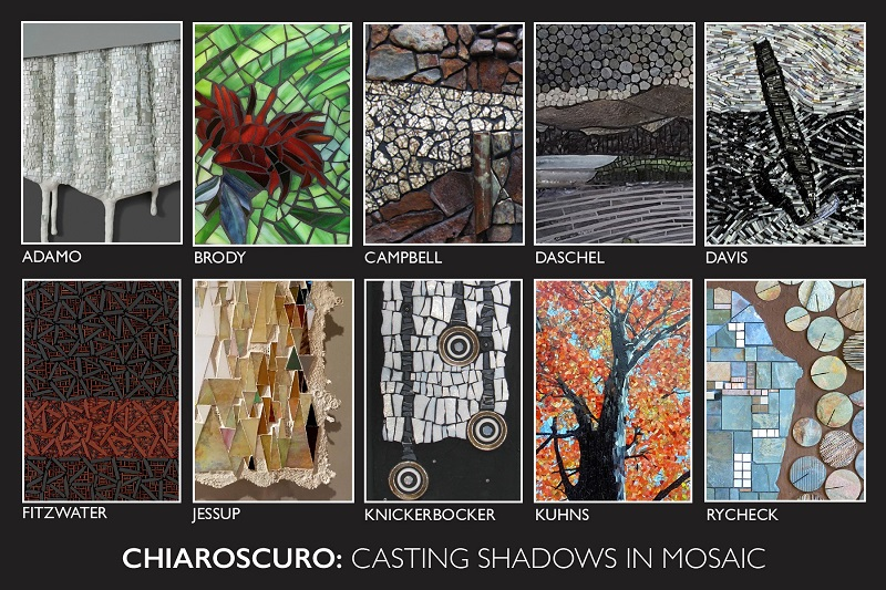 Chiaroscuro Montage - 'Casting Shadows in Mosaic'